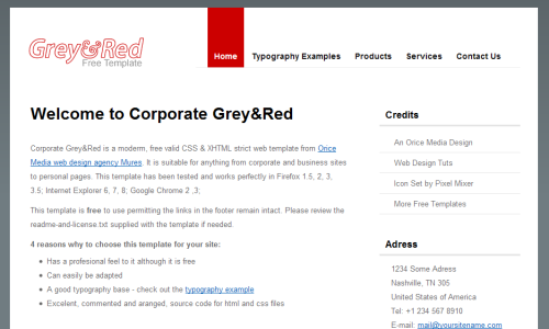 Corporate Red