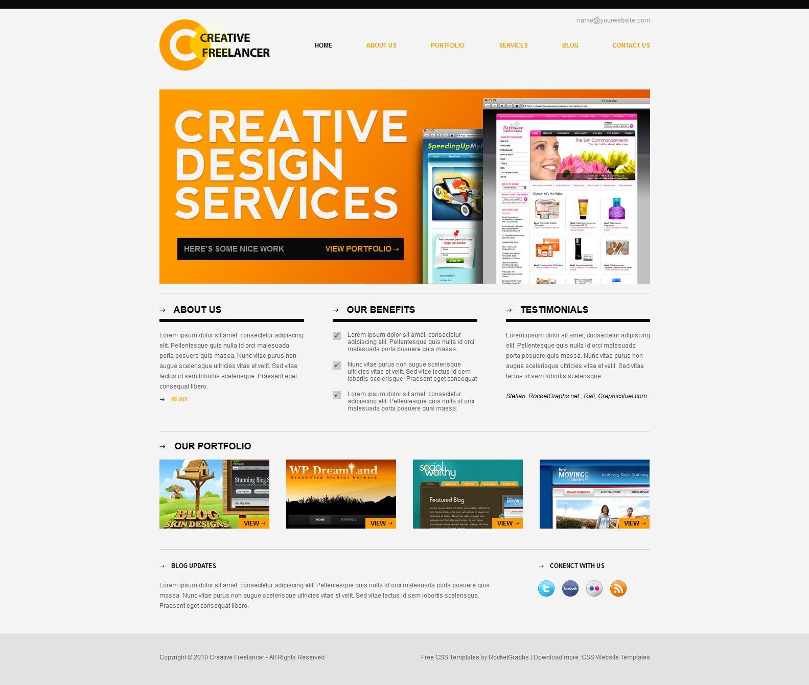 Creative Freelancer