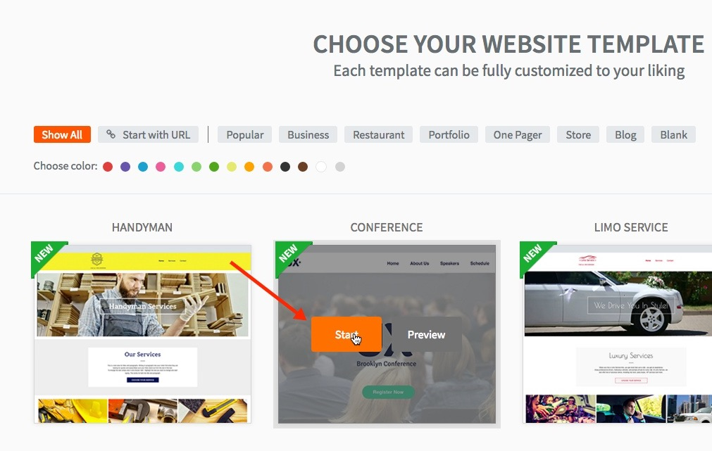 Selecting Good Website Template